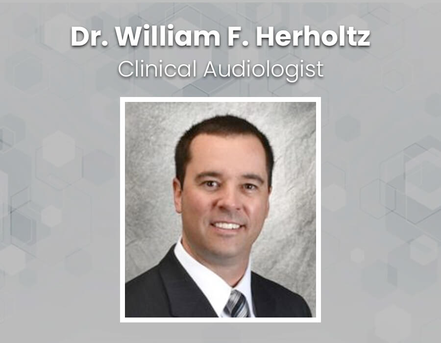 Dr. William Herholtz, clinical audiologist and owner of Apex Audiology